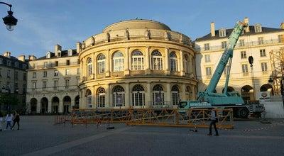 Photo of Opera House Opéra de Rennes at Place De La Mairie, Rennes 35000, France