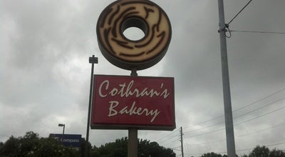 Photo of Bakery Cothran's Bakery at 440 George Wallace Dr, Gadsden, AL 35903, United States