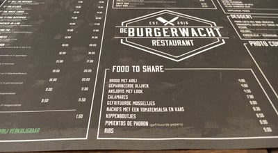 Photo of Burger Joint De Burgerwacht at Zegeplein 13, Turnhout 2300, Belgium