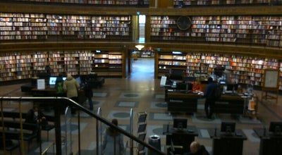 Photo of College Library Stockholm University Library at Sweden