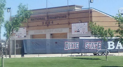 Photo of Baseball Field Bruce Hurst Field at 501-599 800 E, St George, UT 84770, United States
