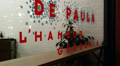 Photo of Burger Joint De Paula: l'Hamburgueseria del Poble Sec at C. Creu Dels Molers, 65, Barcelona 08004, Spain