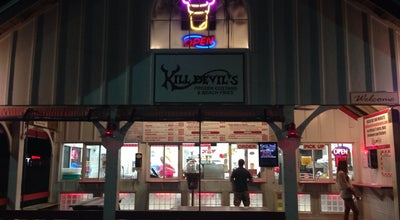 Photo of Ice Cream Shop Kill Devil's Frozen Custard and Beach Fries at 1002 S Croatan Hwy, Kill Devil Hills, NC 27948, United States