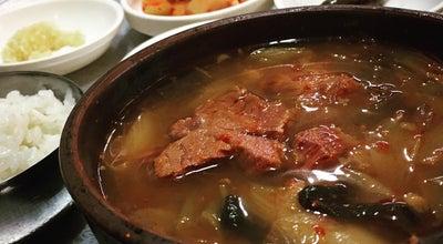 Photo of Korean Restaurant 옛집식당 at 중구 달성공원로6길 48-5, 대구광역시 700-290, South Korea