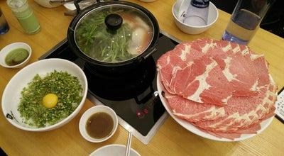 Photo of Ramen / Noodle House 등촌샤브칼국수 at 일산동구 장항동 817, 고양시, South Korea