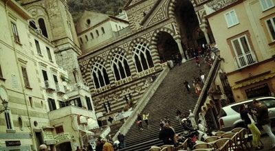 Photo of Town Amalfi at Amalfi 84011, Italy