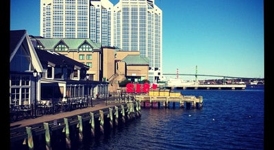 Photo of Harbor / Marina Waterfront Boardwalk at Harbour, Halifax, NS, Canada