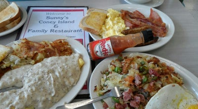 Photo of Diner Sunny's Coney Island at 31290 Ecorse Rd, Romulus, MI 48174, United States
