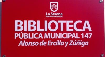 Photo of Library Biblioteca Pública de La Serena at Colon 495, La Serena 1710103, Chile