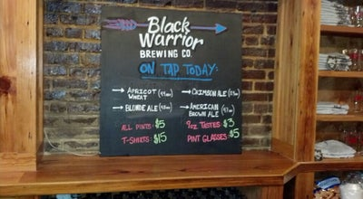 Photo of Brewery Black Warrior Brewing Company at 2216 University Blvd, Tuscaloosa, AL 35401, United States