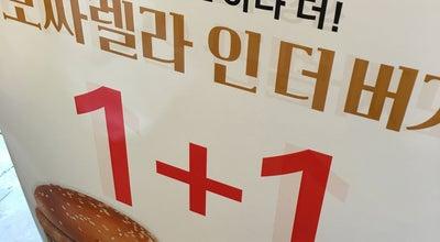 Photo of Burger Joint 롯데리아 (LOTTERIA) at 서구 서대구로 295-6, 대구광역시, South Korea