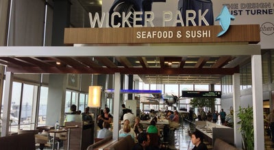 Photo of Sushi Restaurant Wicker Park Seafood & Sushi at Terminal 2 - Main Hall, Chicago, IL 60666, United States