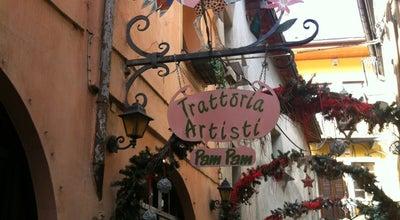 Photo of Italian Restaurant Trattoria degli Artisti Pam Pam at Via Maillet 5, Aosta 11100, Italy