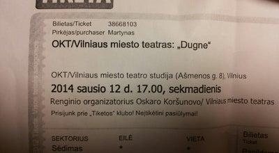 Photo of Theater OKT/Vilniaus miesto teatras at Ašmenos G. 8, Vilnius LT-01135, Lithuania