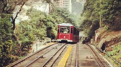 Photo of Light Rail Peak Tram Upper Terminus 山頂纜車凌霄閣總站 at The Peak Tower, 128 Peak Rd, The Peak, Hong Kong