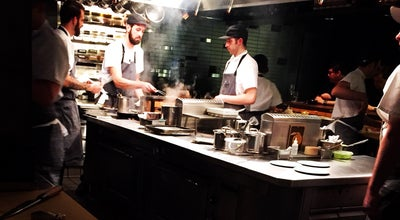 Photo of New American Restaurant Momofuku Ko at 8 Extra Pl, New York, NY 10003, United States