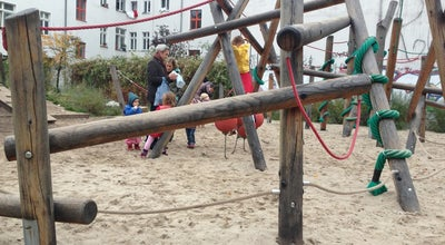 Photo of Playground Spielplatz Schliemannstrasse at Berlin, Germany