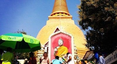 Photo of Historic Site หลวงพ่อศิลาขาว (ปางประทานพร) at ด้านหลังองค์พระร่วง, Thailand