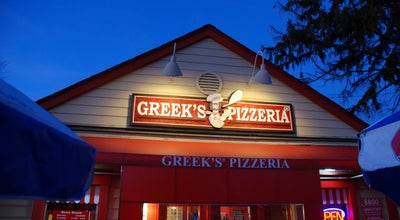 Photo of Pizza Place Greek's Pizzeria at 8800 E 116th St, Fishers, IN 46038, United States