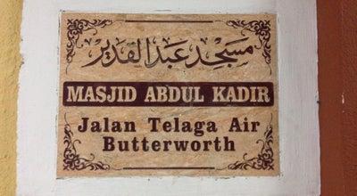 Photo of Mosque Masjid Jamek Abdul Kadir at Jalan Telaga Air, Butterworth 12200, Malaysia