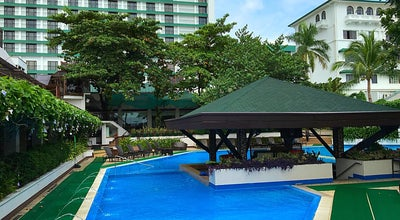 Photo of Beach Manila Hotel Pool Side at Intramuros, Manila, Philippines