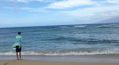 Photo of Beach Mahinahina Beach at Lahaina, HI 96761, United States