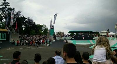 Photo of Skate Park Skatepark La Rotonde at Strasbourg, France