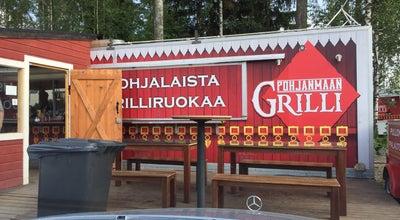 Photo of Burger Joint Pohjanmaan grilli at Nihtisillankuja 2, Espoo 02630, Finland
