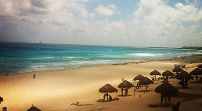 Photo of Beach Playa Delfines (El Mirador) at Blvd. Kukulcan Km 18.5, Cancún 77505, Mexico