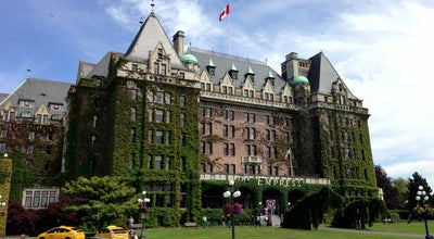Photo of Hotel The Fairmont Empress Hotel at 721 Government St., Victoria, BC V8W 1W5, Canada