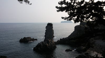 Photo of Beach 외돌개 (Oedolgae) at 서홍동 791, 서귀포시 697-816, South Korea