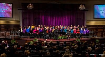 Photo of Church First Baptist Church Atlanta at 4400 N Peachtree Rd, Atlanta, GA 30338, United States