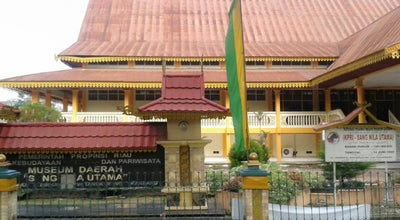 Photo of History Museum Museum Sang Nila Utama at Jalan Jendral Sudirman, pekanbaru, riau 28282, Indonesia