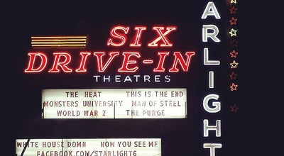 Photo of Indie Movie Theater Starlight Six Drive-In at 2000 Moreland Ave Se, Atlanta, GA 30316, United States