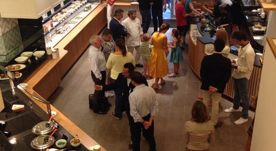 Photo of Belgian Restaurant Exki at 257 Park Ave S, New York City, NY 10010, United States