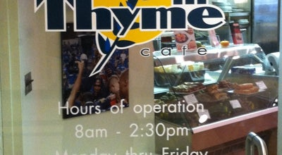 Photo of Cafe In Thyme Cafe at 100 Plaza Dr, Secaucus, NJ 07094, United States