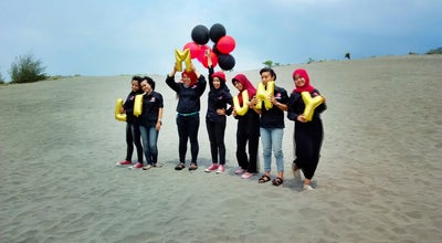 Photo of Beach parangkusumo sand hill at Indonesia