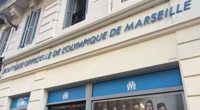 Photo of Sporting Goods Shop Boutique Officielle de l'Olympique de Marseille (OM) at 44 La Canebière, Marseille 13001, France