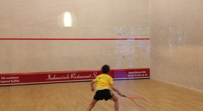 Photo of Athletics and Sports Sportcentrum Mariahoeve tennis badminton squash at Het Kleine Loo 12, The Hague 2592CE, Netherlands
