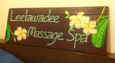 Photo of Massage Leelawadee Spa at ใกล้ Big C บ้านสวนเพลส, Wichit, Thailand