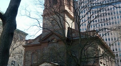 Photo of Church St. Paul's Chapel at 209 Broadway, New York City, NY 10022, United States