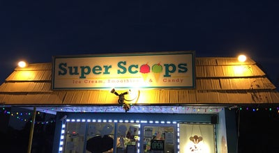Photo of Ice Cream Shop Super Scoops at 11025 Gulf Blvd, Saint Petersburg, FL 33706, United States