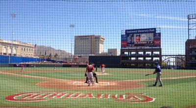 Photo of Baseball Field Southwest University Park at 1 Ball Park Plz, El Paso, TX 79901, United States