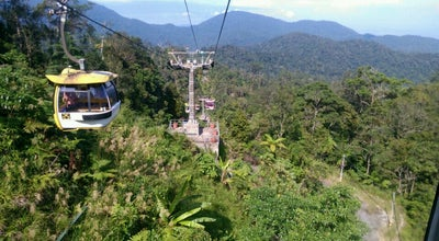 Photo of Rest Area Awana Skyway Cablecar Station at Genting Highlands, Gohtong Jaya, Malaysia