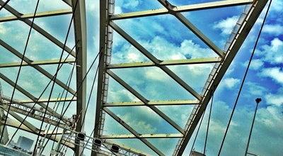 Photo of Bridge Van Brienenoordbrug at Rijksweg A16, Rotterdam, Netherlands