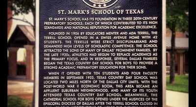 Photo of High School St Mark's School of Texas at 10600 Preston Rd, Dallas, TX 75230, United States