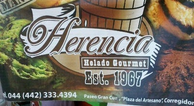Photo of Dessert Shop herencia helado gourmet at Mexico