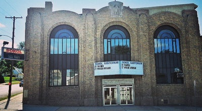 Photo of Music Venue Sokol Auditorium at 2234 S 13th St, Omaha, NE 68108, United States