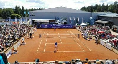Photo of Tennis Court Tampereen Tenniskeskus at Toimelantie 4, Tampere 33560, Finland