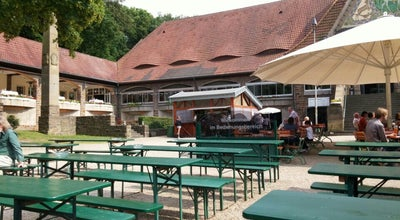 Photo of Beer Garden Stadtwaldhaus at Hüttenallee 108, Krefeld 47800, Germany